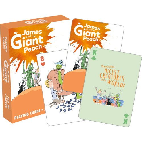 James and the Giant Peach Playing Cards