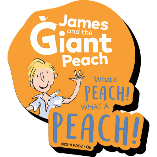 James and the Giant Peach Funky Chunky Magnet.