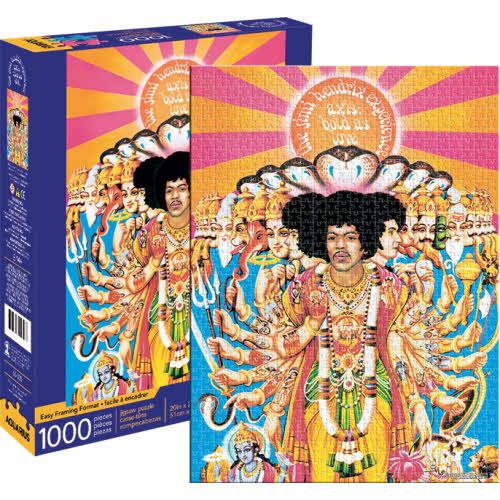 Jimi Hendrix Axis 1000 Piece Puzzle.