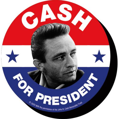Johnny Cash President Funky Chunky Magnet.