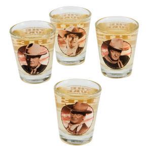 John Wayne Shot Glasses Set of 4