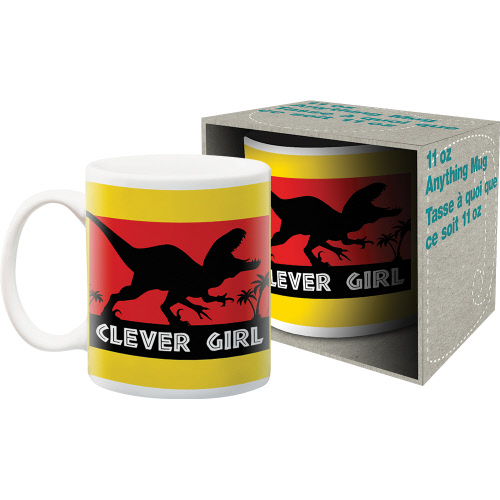 Clever Girl 11 Ounce Boxed Mug.