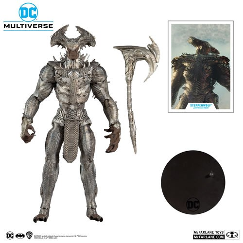 Justice League (2021 Movie) 7 Inch Scale Megafigs Steppenwolf Action Figure