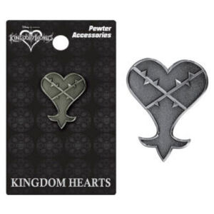 Kingdom Hearts Heartless Pewter Lapel Pin