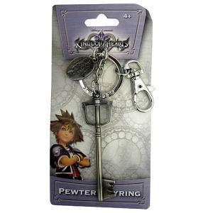 Kingdom Hearts Soras Sword Pewter Key Chain