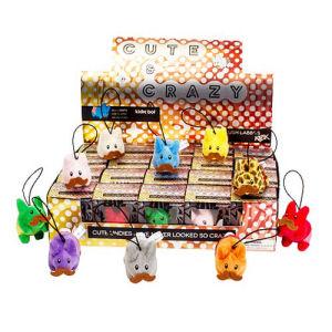 Frank Kozik Cute And Crazy Happy Labbit Mini Plush Case