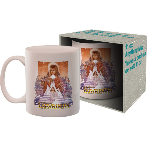 Labyrinth One Sheet 11 Ounce Boxed Mug.