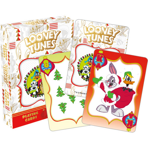 Looney Tunes Holiday 2 Playing Cards.