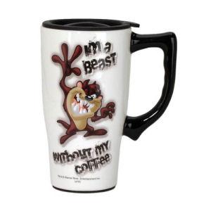Looney Tunes Tasmanian Devil Travel Mug with Handle