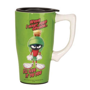 Looney Tunes Marvin the Martian Travel Mug with Handle