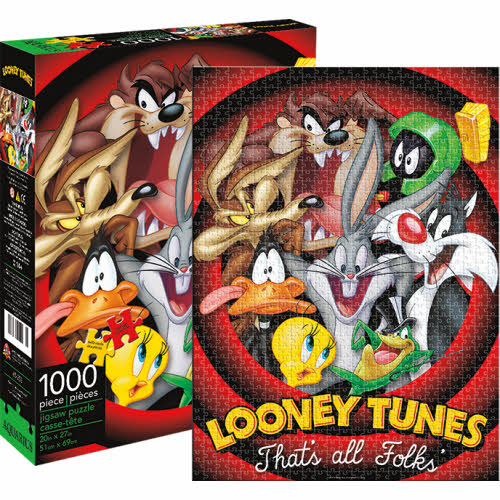 Looney Tunes 1000 Piece Puzzle.