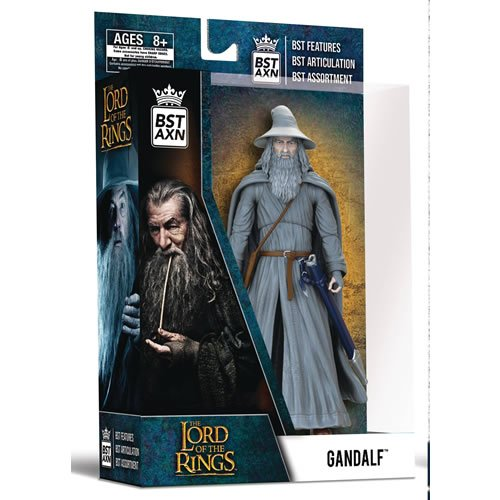 Lord Of The Rings Gandalf The Grey 5 Inch Best Action Figure.