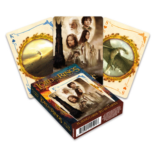 The Lord of the Rings The Two Towers Playing Cards