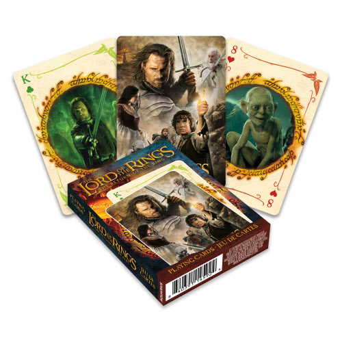 The Lord of the Rings Return Of The King Playing Cards.
