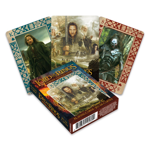 The Lord of the Rings Heroes and Villains Playing Cards.