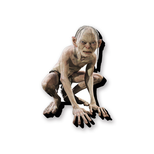 The Lord of the Rings Gollum Funky Chunky Magnet.