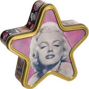 Marilyn Monroe Star Tin Box