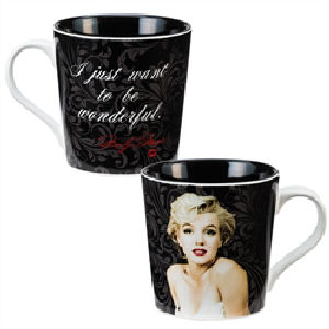 Marilyn Monroe Wonderful 12 Ounce Ceramic Mug