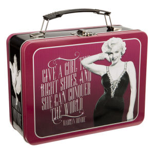 Marilyn Monroe Large Lunch Box Tin Tote