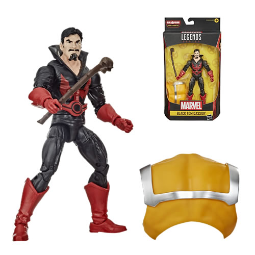 Marvel Legends Black Tom Cassidy 6 inch Action Figure. Build-A-Figure Strong Guy.