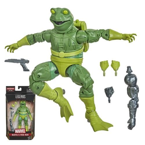 Marvel Legends Frog-Man  6 Inch  Action Figure. Build-A-Figure Stilt-Man.