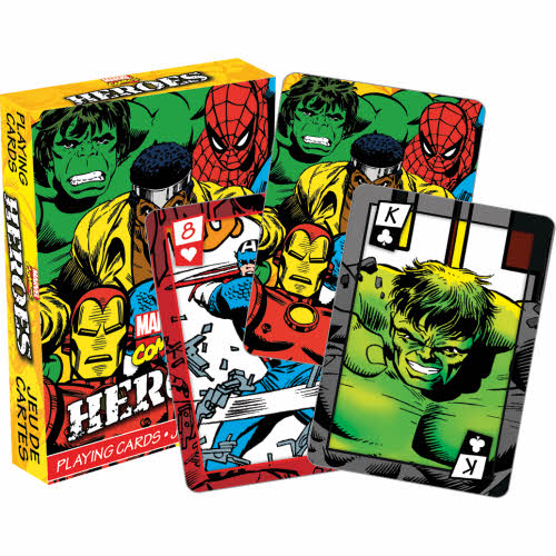 Marvel Comics Heroes Playing Cards