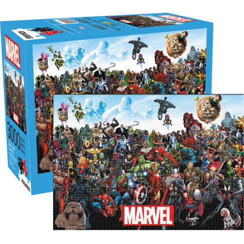 Marvel Cast 3000 Piece Puzzle.