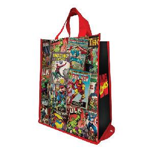 Marvel Packable Shopper Tote