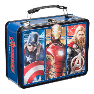 Marvel Avengers 2 Age of Ultron Lunch Box Large Tin Tote