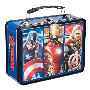 Marvel Avengers 2 Age of Ultron Lunch Box Large Tin Tote. Measures 9 Inches x 3.5 Inches x 7.5 Inches.