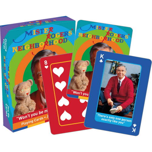 Mister Rogers Playing Cards.