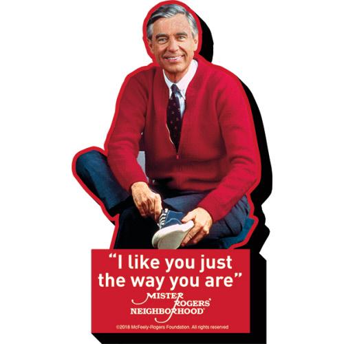 Mr Rogers I Like You Funky Chunky Magnet.