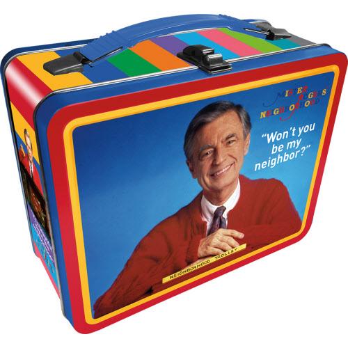 Mr Rogers Gen 2 Fun Box Lunchbox Tin Tote