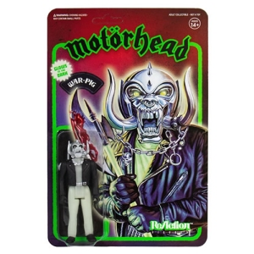 Motorhead Warpig Glow In The Dark ReAction 3.75 Inch Retro Action Figure