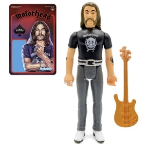 Motorhead Lemmy ReAction 3.75 Inch Retro Action Figure