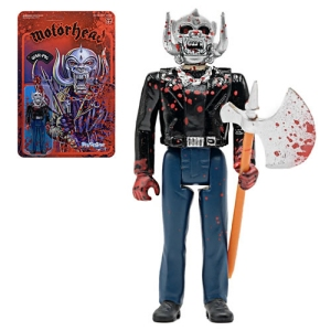 Motorhead Bloody Warpig ReAction 3.75 Inch Retro Action Figure