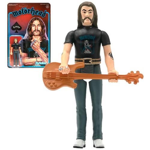 Motorhead Lemmy (Repaint) ReAction 3.75 Inch Retro Action Figure