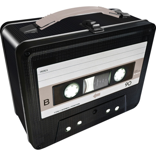 Cassette Tape Gen 2 Fun Box Lunchbox Tin Tote.