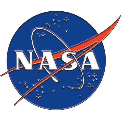NASA Logo Enamel Pin.
