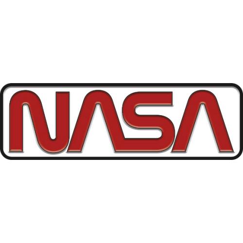 NASA Retro Logo Enamel Pin.