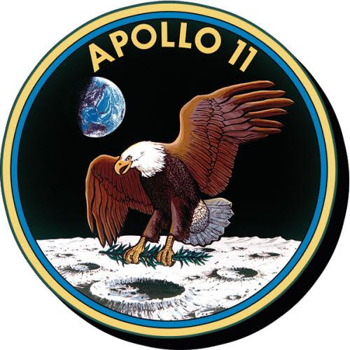 NASA Apollo 11 Funky Chunky Magnet.