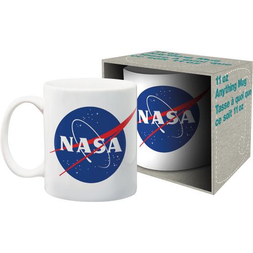 NASA Logo 11 Ounce Boxed Mug.