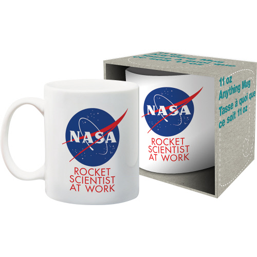 NASA Rocket Scientist 11 Ounce Boxed Mug