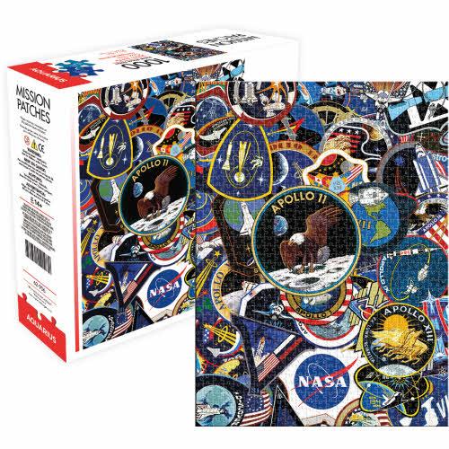 NASA Mission Patches 1000 Piece Puzzle