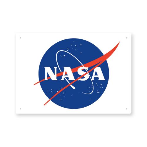 NASA Logo Tin Sign.
