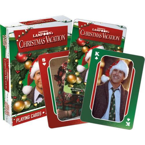 Christmas Vacation Photos Playing Cards.