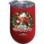 National Lampoon Christmas Vacation Merry Clarkmas Stainless Wine Tumbler.