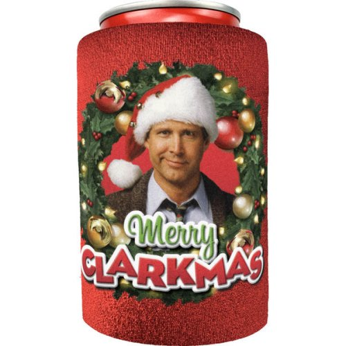 National Lampoon Christmas Vacation Merry Clarkmas Can Cooler