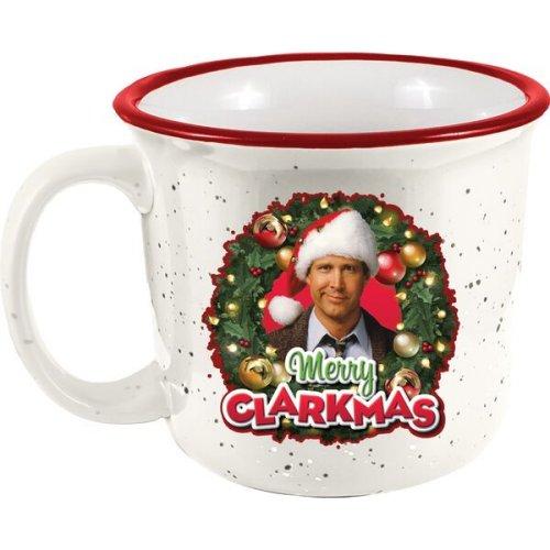 National Lampoon Christmas Vacation Merry Clarkmas Camper Mug.