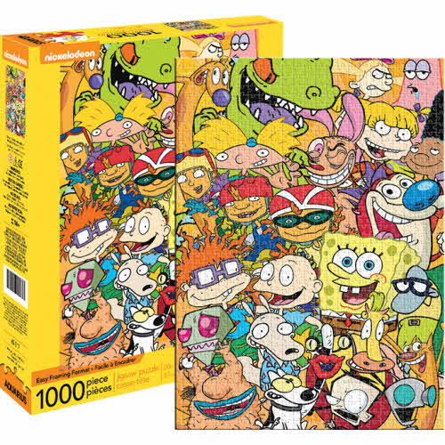 Nickelodeon Cast 1000 Piece Puzzle